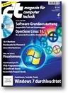 Titelbild der c't-Ausgabe 4/2009
