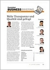 Handelsblatt Business Briefing