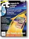 Titelbild der c't-Ausgabe 10/2009