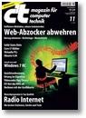 Titelbild der c't-Ausgabe 11/2009