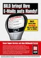 Werbemotiv zum neuen Dienst myMails von BILDmobil