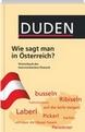 Wörterbuch des österreichischen Deutsch