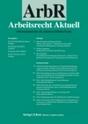 """ArbR - Arbeitsrecht Aktuell"""