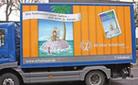 LKW-Reklame zu Hirnforschung für Neu(ro)gierige