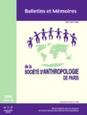 Bulletins et mémoires de la Société d'Anthropologie de Paris