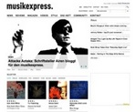 musikexpress.de: mehr Multimedia, mehr Mode.